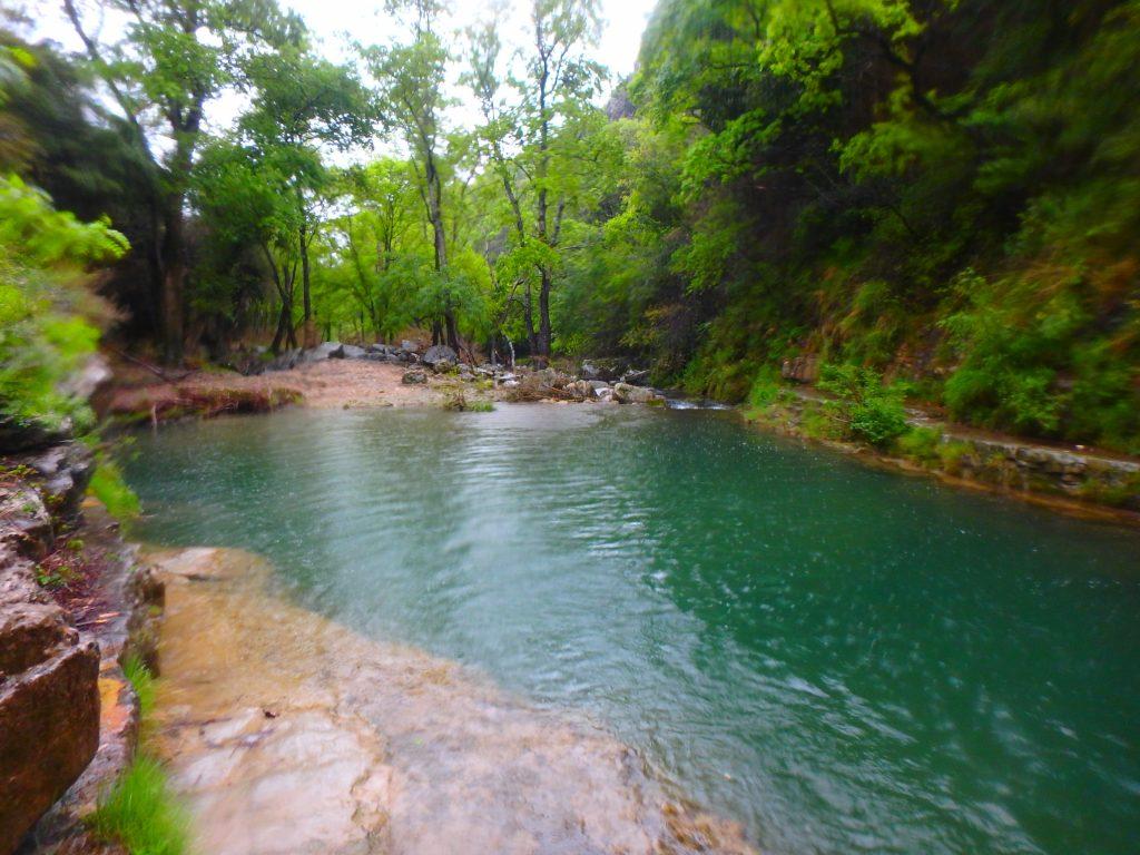 la Lergue, rivière idéale pour découvrir la pêche à la mouche dans l'Hérault